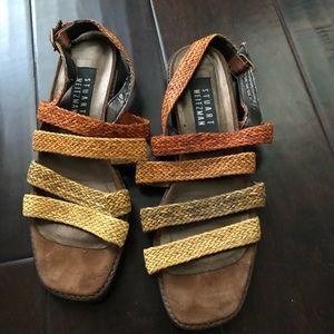Stuart Weitzman brown sandals